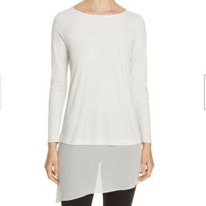 Eileen Fisher Silk Layer Look Tunic